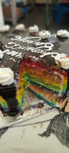 Rainbow Cake photo review